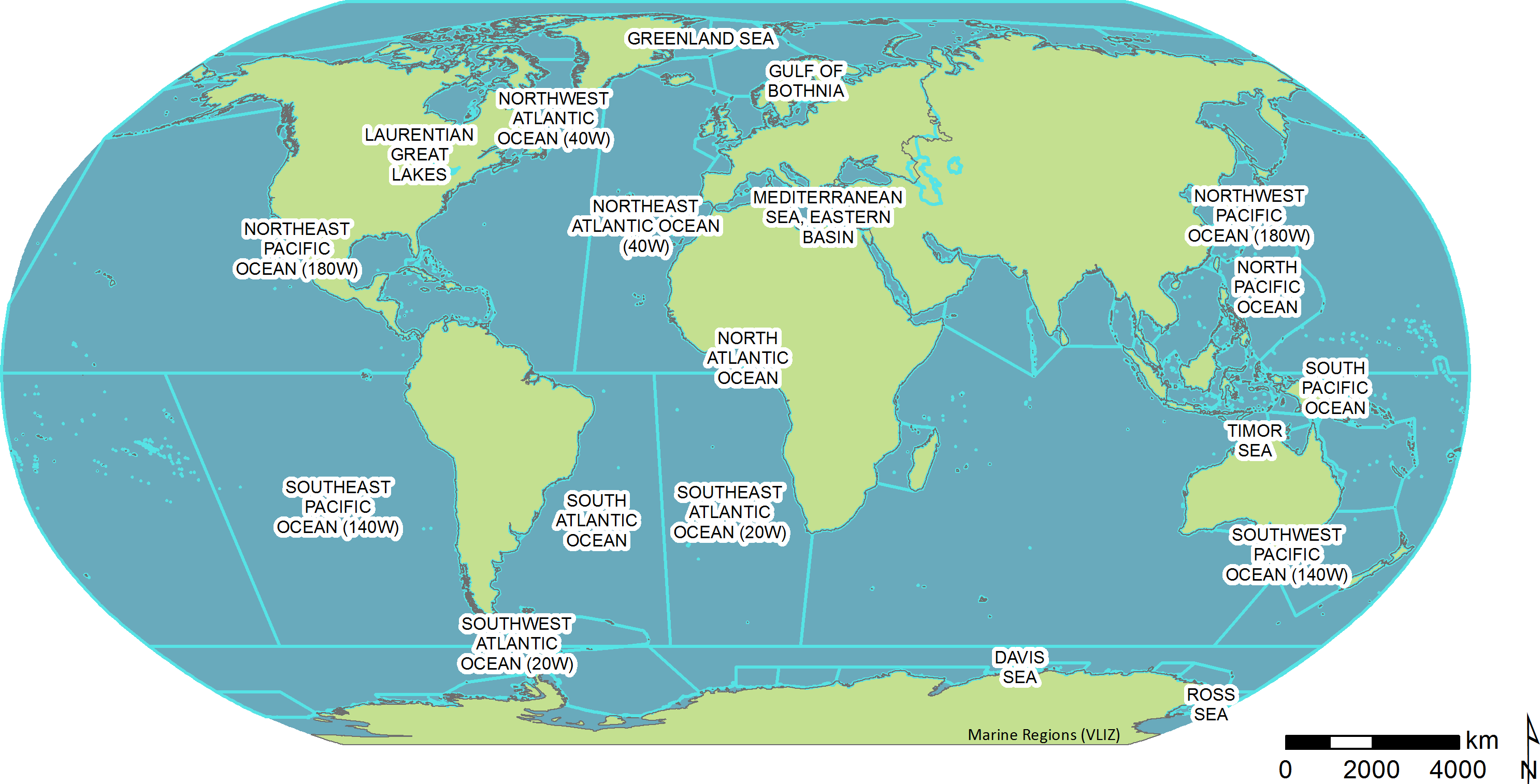 Picture of: Marine Regions